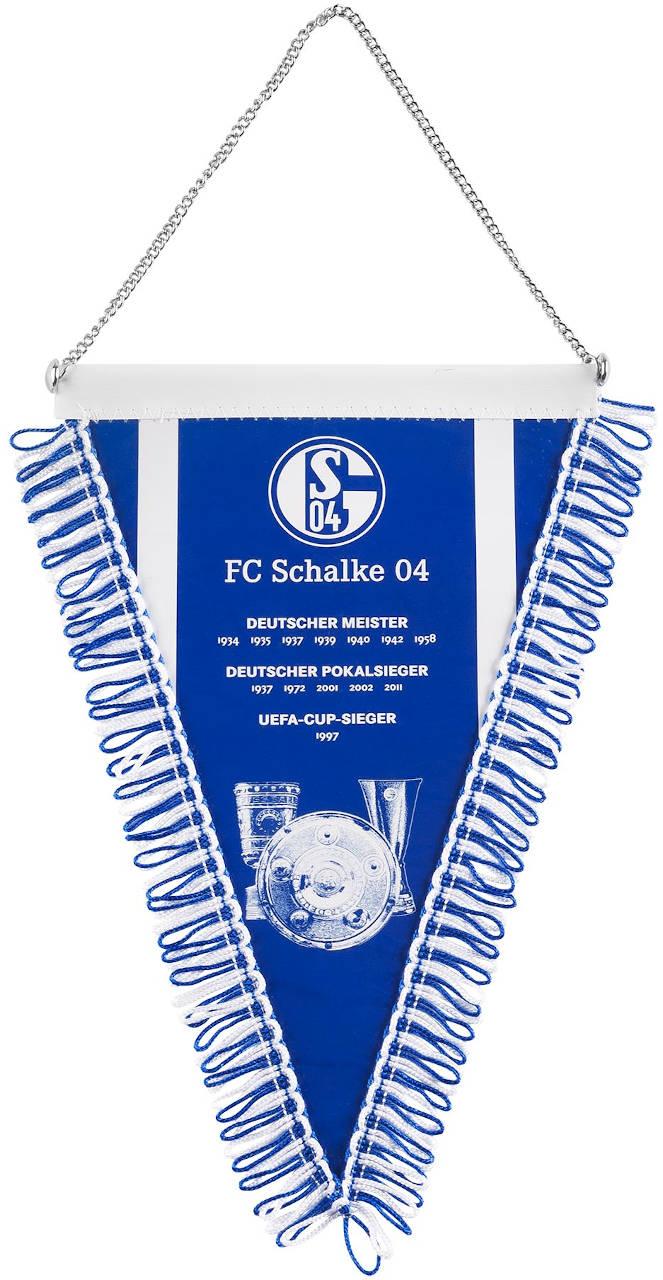 FC Schalke 04 Wimpel Erfolge klein