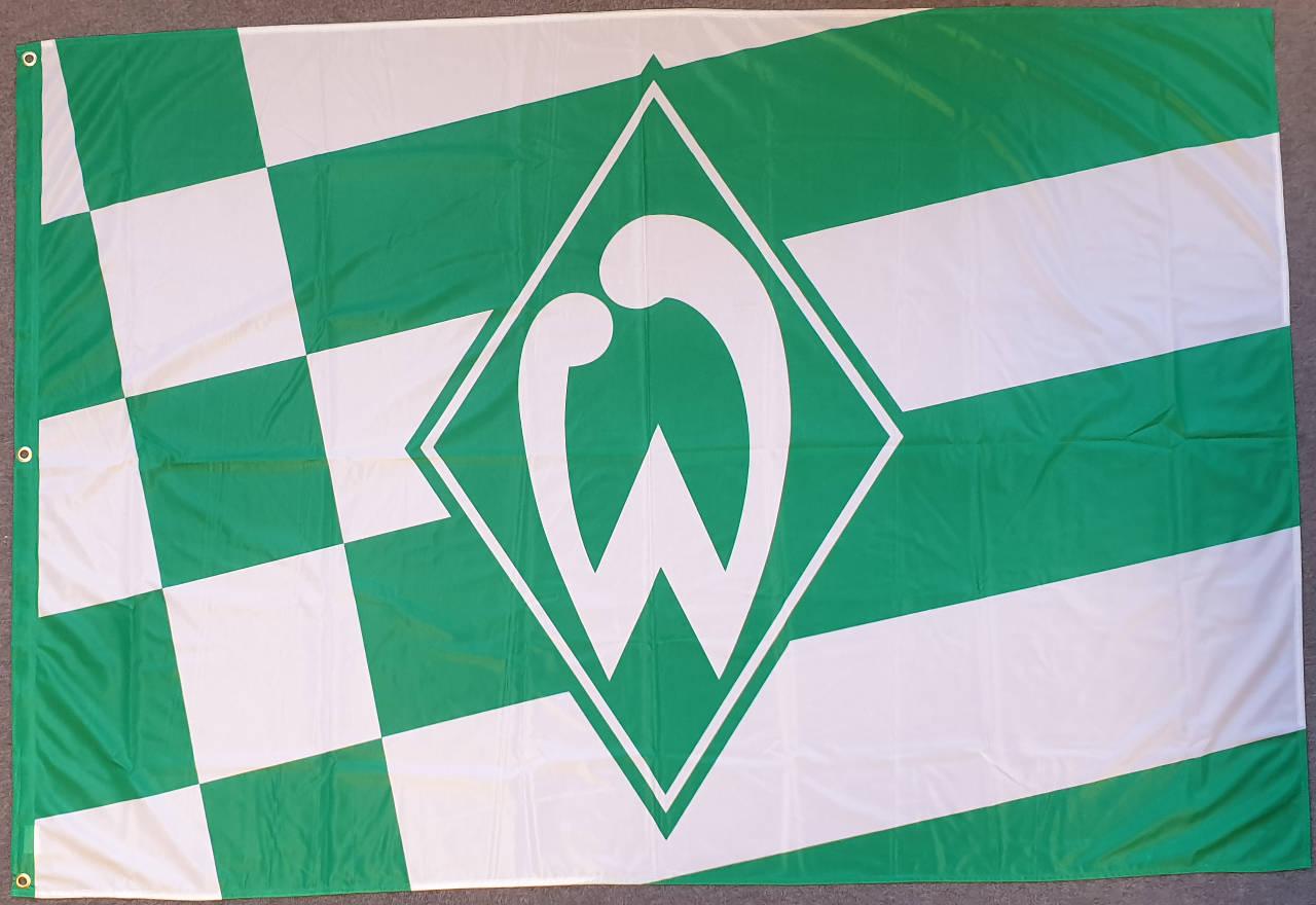 Werder Bremen Hissflagge Raute klein