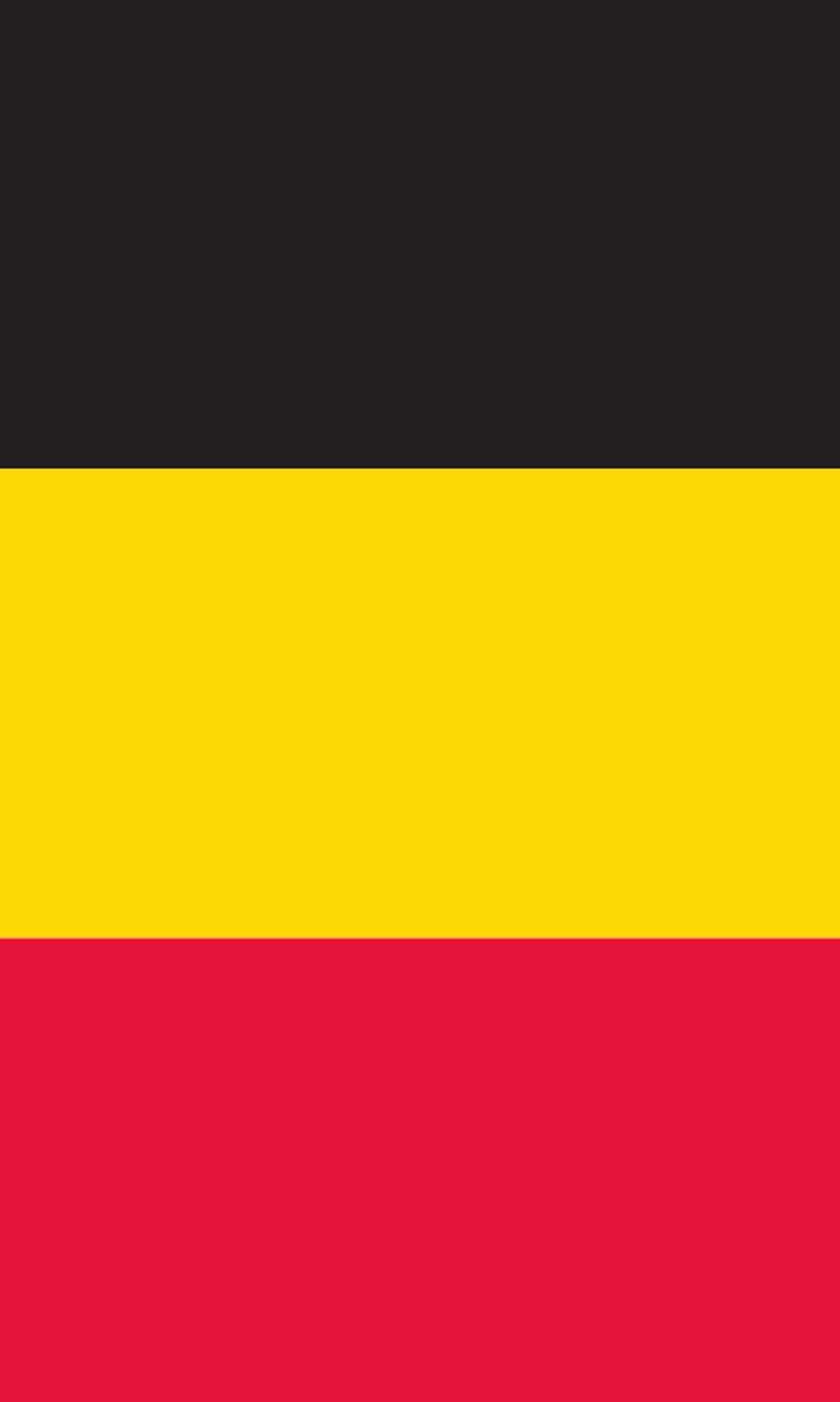 Tischbanner Belgien