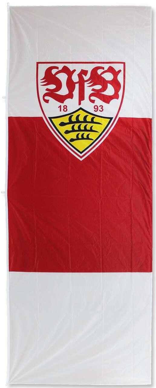 VfB Stuttgart Hissflagge Hochformat