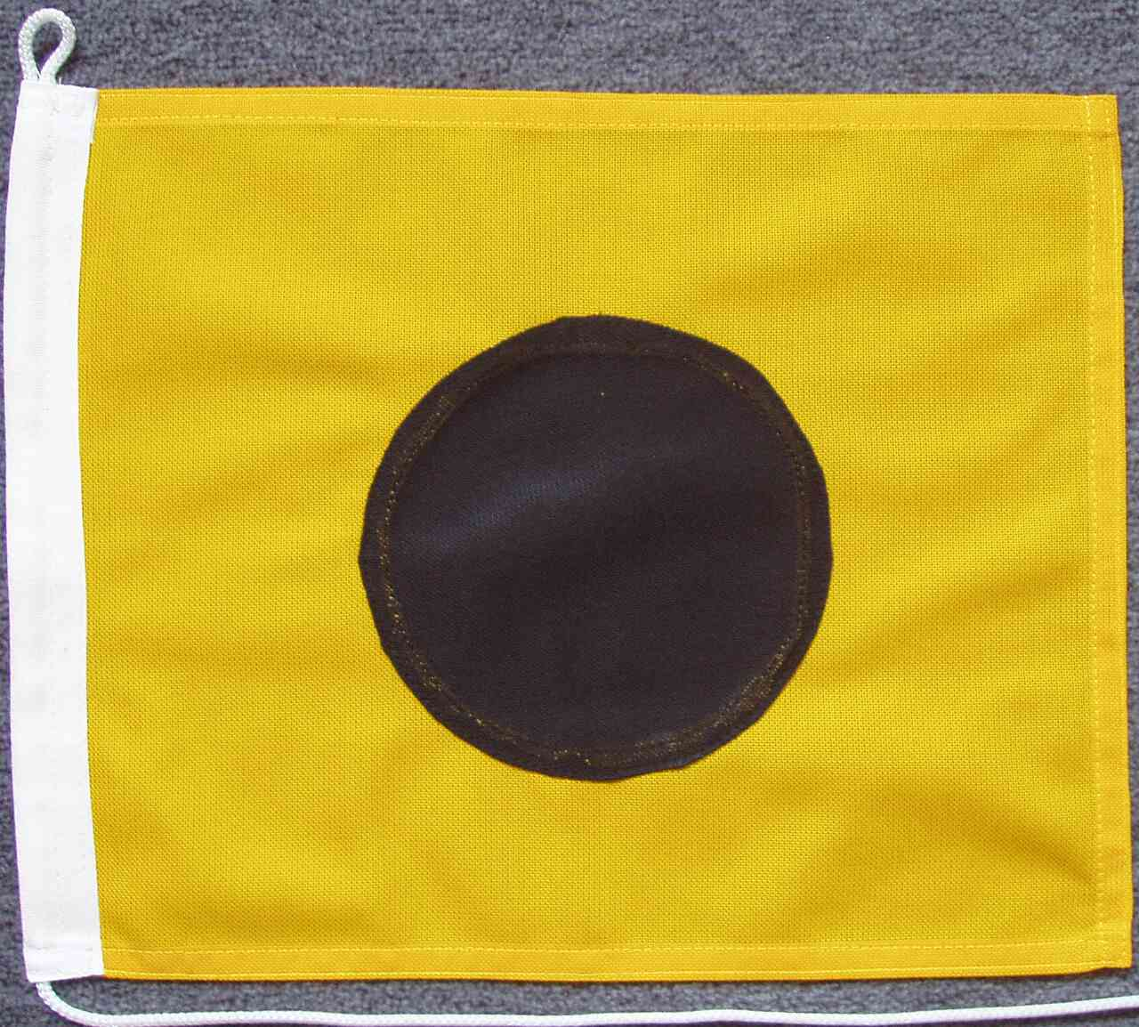 Signalflagge I - India