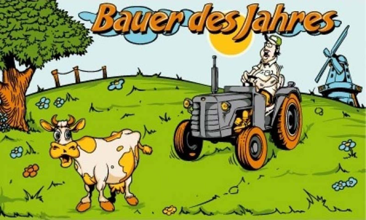 Flagge Bauer des Jahres 80 g/m²