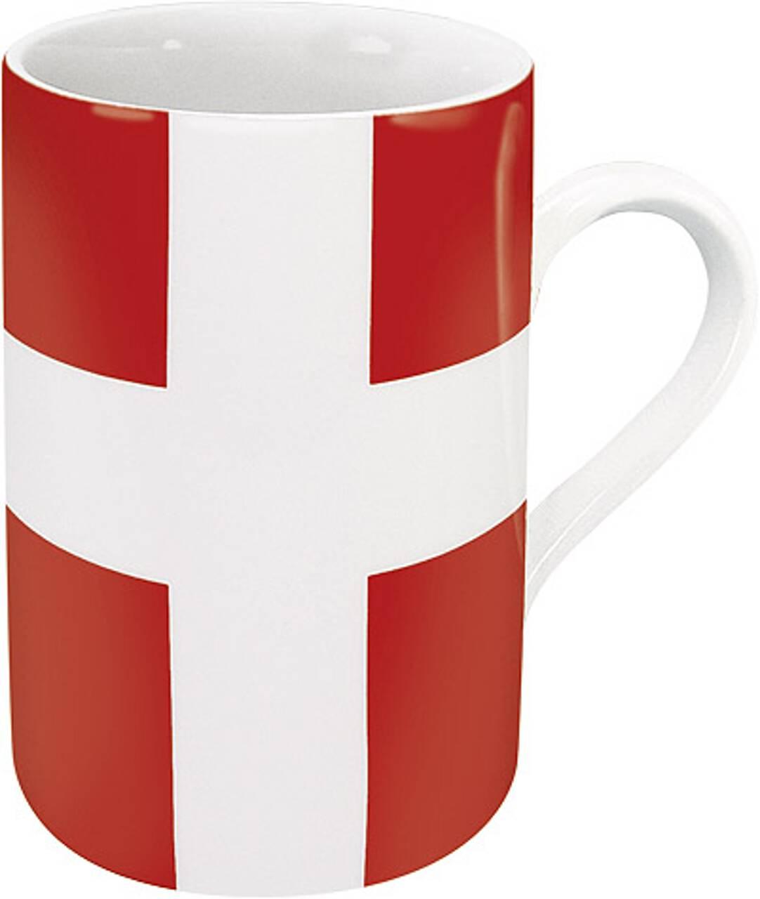 Kaffeebecher mit Motiv Dänemarkflagge