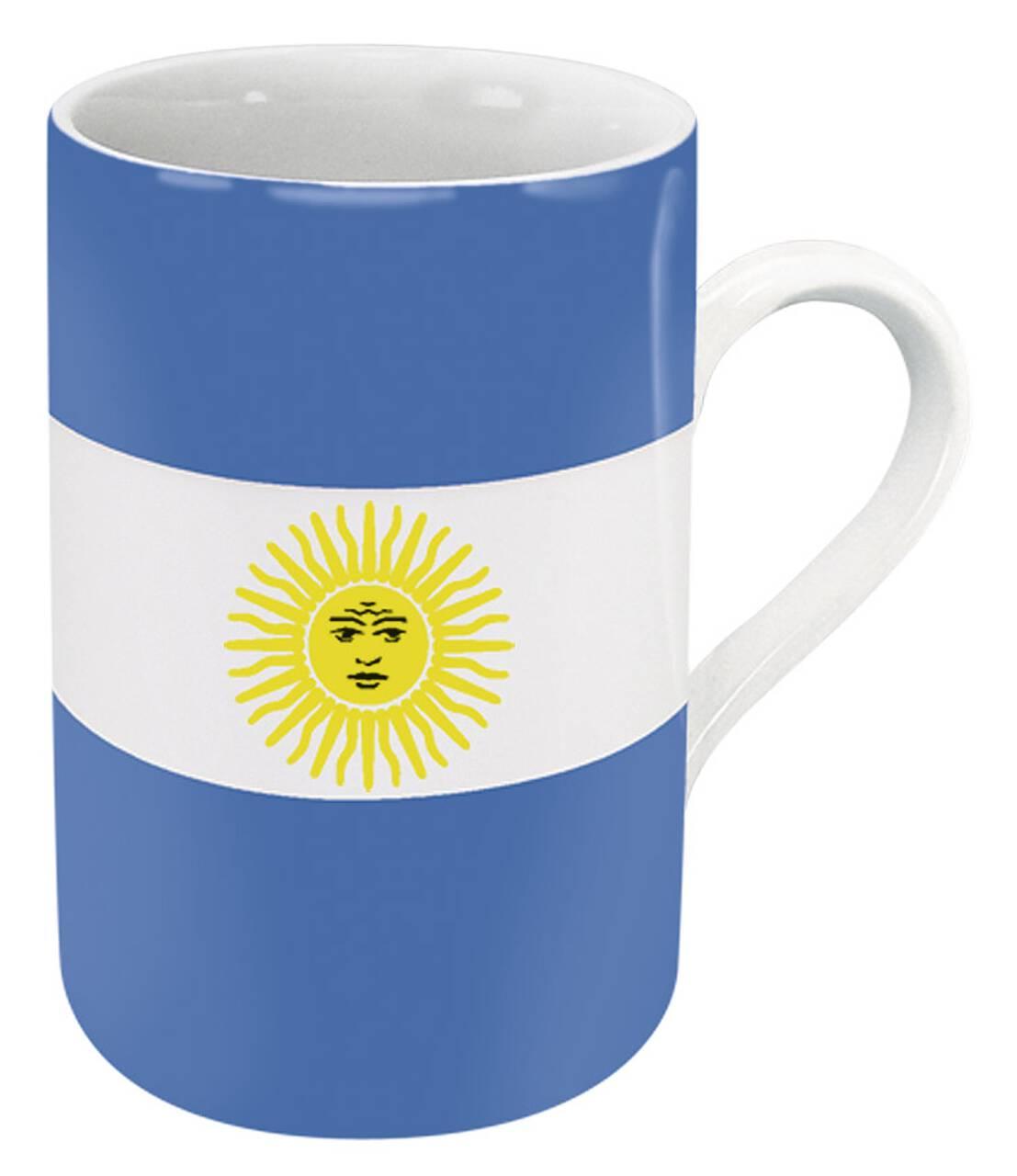 Kaffeebecher mit Motiv Argentinienflagge